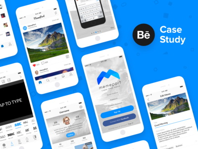 MemePort - Behance Case Study