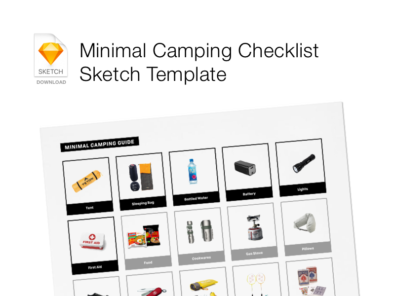 Minimal Camping List
