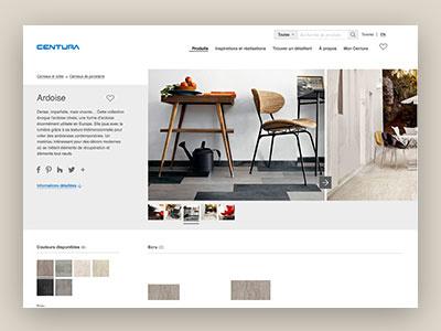 Centura Website ux design ui website design design product page website