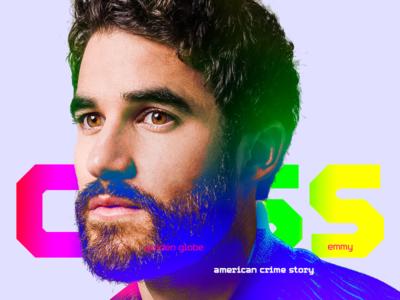 Darren Criss / 2019 Golden Globe Winner awards athlete asian sports illustration typography design photoshop aapi glee criss darren