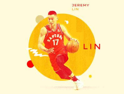 Jeremy Lin / NBA Finals Champion sports athlete asian lin jeremy nba basketball illustration typography design photoshop aapi