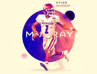 Kyler Murray / First Round, First Pick, Arizona Cardinals typography design photoshop aapi cardinals arizona football nfl espn athlete asian sports