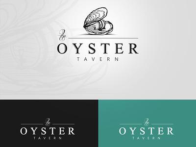 the Oyster tavern logos logodesign tavern logo bar logo barrel illustration tavern oyster logo oyster logotype logo