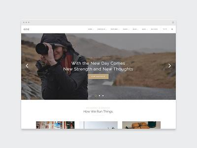 EZIO | Vintage designer agency creative webdesign visual artist freelancing theme wordpress business portfolio multi-purpose