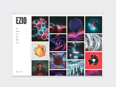 EZIO | Agency II designer agency creative webdesign visual artist theme wordpress showcase portfolio photography