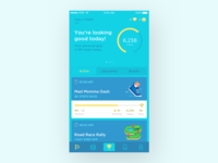 Fitness App — Dashboard