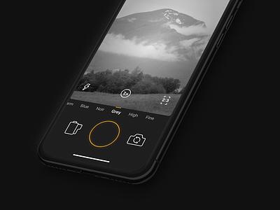 Aesthetico color correction aesthetico ios camera app
