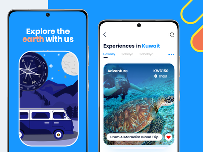 Guidedia App uiux design website app ux ui
