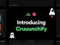 Cruuunchify - Source Files web app webdesign web design gradient modern download freebie spotify music invision invision studio invisionstudio
