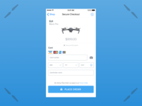 Daily UI #002 • Credit card checkout