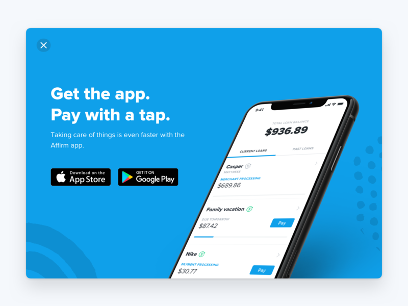 Get the app. Pay with a tap.