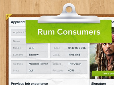Form Thumbnail form app clipboard get green ios icon ipad jack label paperless rum skeuomorph sparrow thumbnail