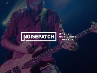 noisepatch noise patch branding logo community musicians music connect startup