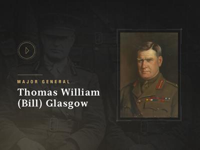 Bill Glasgow history military queenslander anzac 1 war world profile glasgow bill