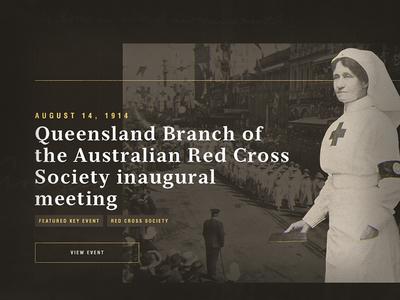 Queensland Red Cross event timeline australia queensland history 1 war world cross red