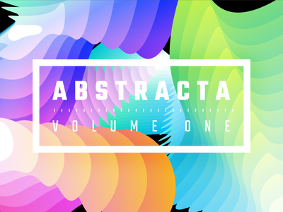 Abstracta - Volume One texture background colorful color waves curves distorted distortion shapes vector resource abstracta