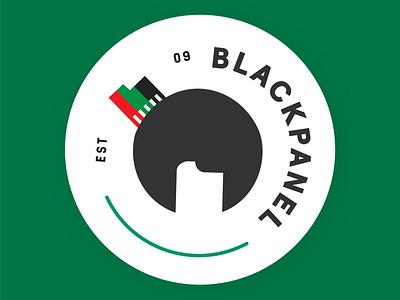 Employee Group Logo - BlackPanel logo design employee group flat logo illustration