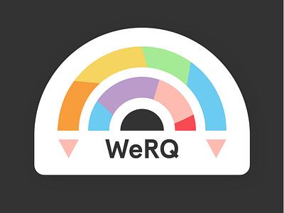 Employee Research Group Logo - WeRQ representation group logo lgbtq queer flat logo illustration