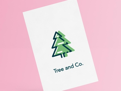 Tree and Co. Logo & Business Card