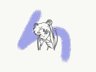 Sailor Moon lineart anime sailor moon illustration