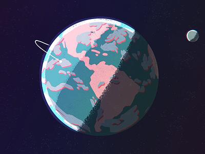 Planet Earth -  Motionauts Reel 2017 earth planet earth motionauts reel 2d animation motiongraphics motion design motion illustration style frames