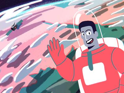 The Motionaut - Motionauts Demo Reel 2017 still demo reel reel space astronauts motionauts motion design motiongraphics motion 2d animation animation