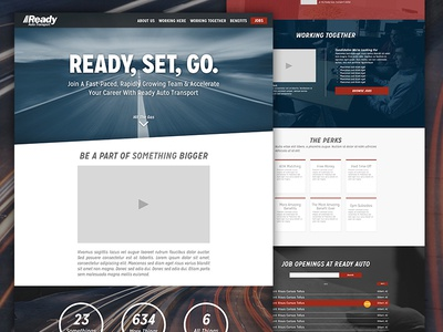 Ready Auto - Careers careers site layout arizona cars auto dynamic