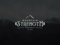 Mountain Strength Crossfit // Schuster Design Co.