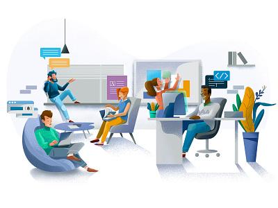 illustration web graph people negocios ux pintar arte vector diseño diseños de personajes animación ilustración