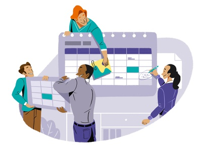 Calendar business people libro de tapa negocios grafico icono ux pintar arte vector diseño diseños de personajes animación ilustración