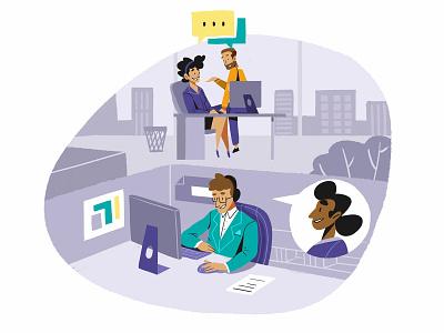 Good Work Synergy infografia logo libro de tapa gente negocios grafico icono ux pintar arte vector diseño diseños de personajes animación ilustración