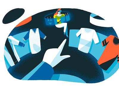 Choosing product ui infografia logo libro de tapa gente negocios grafico icono ux pintar arte vector diseño diseños de personajes animación ilustración