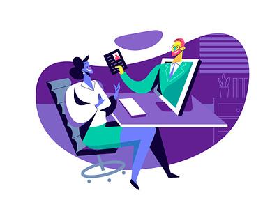 Focussed On Bespoke Requests From Business márketing ui infografia logo libro de tapa gente negocios grafico icono ux pintar arte vector diseño diseños de personajes animación ilustración