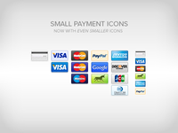 Small Payment Icons - Update