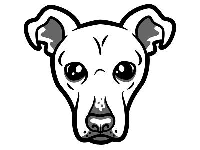 Mutt mutt dogs vector illustration