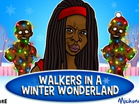 Walking Dead Xmas Card