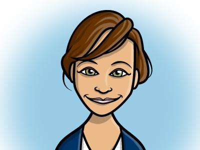 Ann Perkins cartooning illustration parks and recreation tv