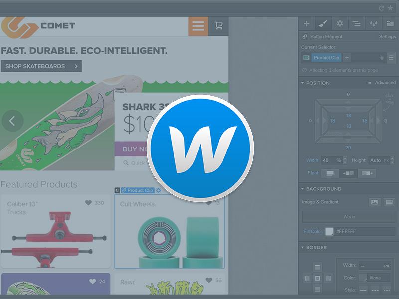 Webflow App Icon yosemite osx icon webflow