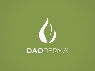 DaoDerma branding logo design logo
