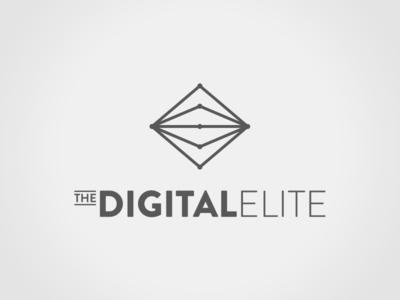 Digital Elite branding logo design logo
