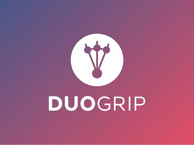 DuoGrip branding logo design logo