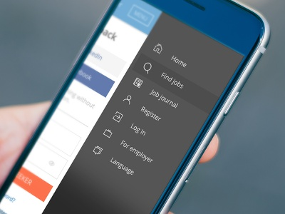 Menu + Icon design icons menu off canvas navigation
