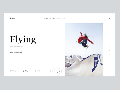 Rollin. explore build roll skate