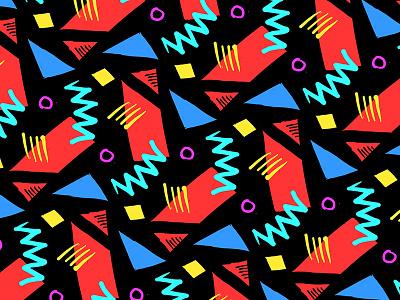 1980s Pattern Studies 80s patterns 1980s
