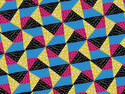 80s Design Quilt Pattern repeat pattern quilt 1980s 80s patterns