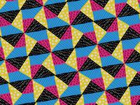 80s Design Quilt Pattern