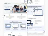 Quesbook Schools Landing Page
