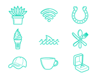 Penny Tee Icons