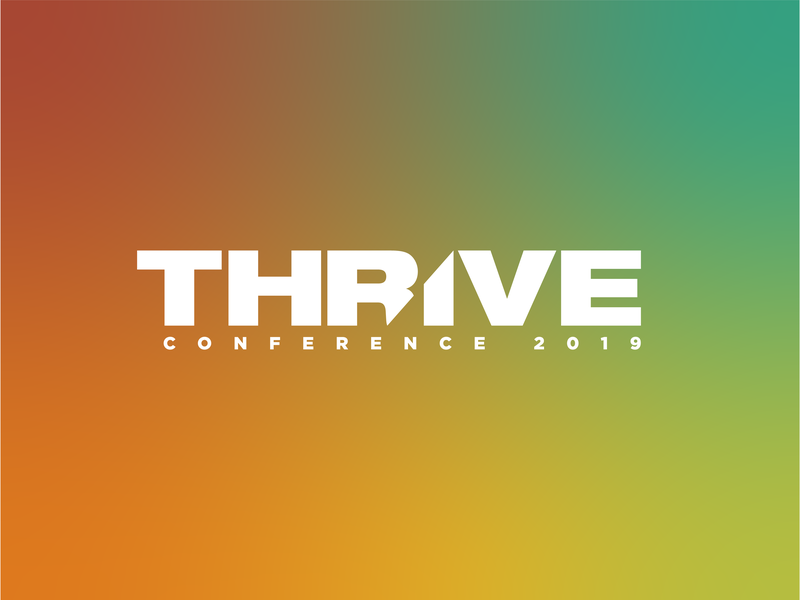 Thrive Conference 2019 logos design branding illustrator vector illustration logo design logo