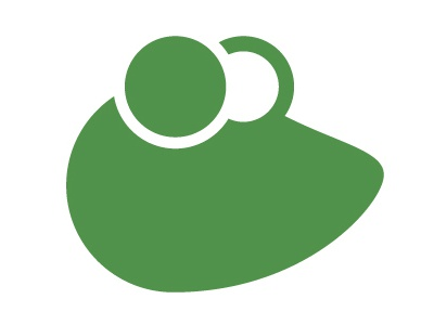 Frog? animal vector logo